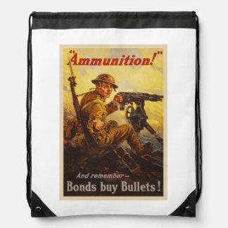 Propaganda de la munición WWI de los enlaces de Mochilas