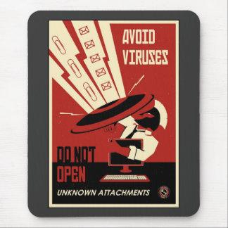 Propaganda de la oficina: Transferencias directas Alfombrillas De Raton