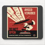 Propaganda de la oficina: Transferencias directas Tapetes De Raton