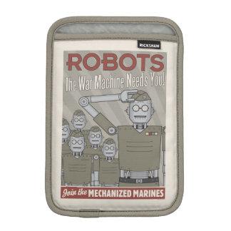 Propaganda de los militares del robot del estilo fundas iPad mini