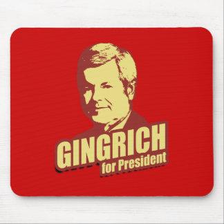 Propaganda de Newt Gingrich Alfombrillas De Ratón