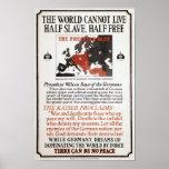 Propaganda de WWI Poster