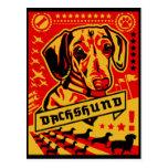Propaganda del Dachshund Postal
