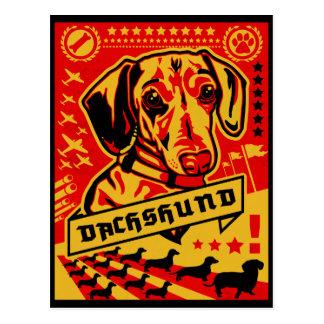 Propaganda del Dachshund Tarjetas Postales