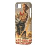 Propaganda del polaco de la era de la guerra fría iPhone 5 Case-Mate funda