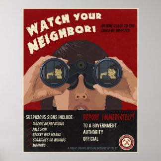 Propaganda del zombi posters