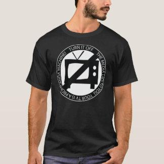 Propaganda Machine - Turn Your Tv Off T-shirt