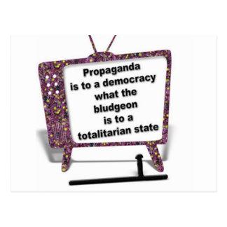 Propaganda Postcard