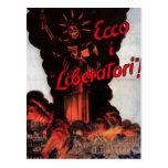 Propaganda Poster Postcard