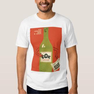 Propaganda rusa del Anti-Alcohol Remeras