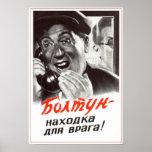 Propaganda soviética 1954 de URSS Posters
