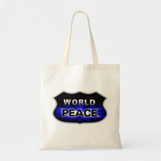 Propagating World Peace Designs Budget Tote