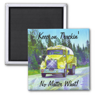 Propane Gas Delivery Truck Drivers Truckin' Magnet