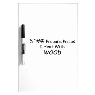 %^&@ Propane Prices I Heat With Wood Power Tools/W Dry-Erase Boards