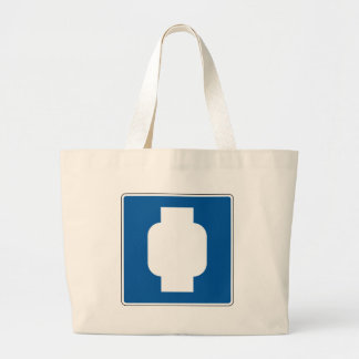 Propane Street Sign Tote Bag