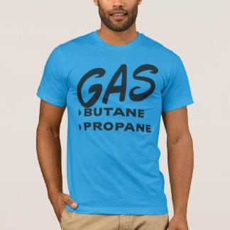 Propano del butano del gas de Oxygentees Playera