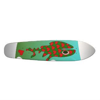 Propelled by love skateboard deck