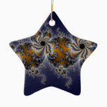Propelleflora - Swirl Fractal Ceramic Ornament