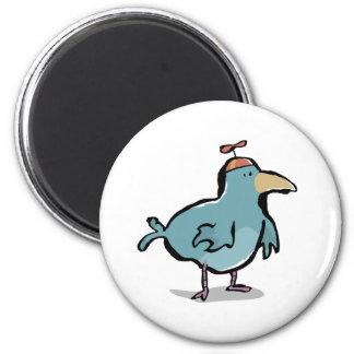 propeller bird 2 inch round magnet
