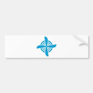 Propeller Bumper Sticker