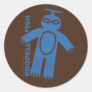 PROPELLER FISH sticker