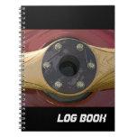Propeller Flight Log Book Note Book