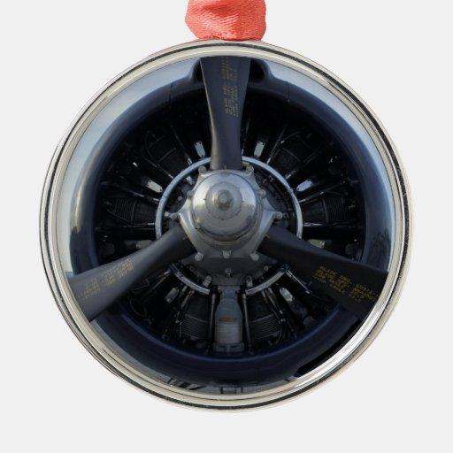 Propeller Metal Ornament