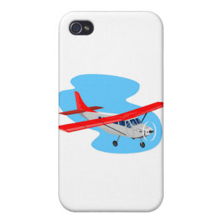 propeller plane airplane aircraft flying flight iPhone 4/4S cover