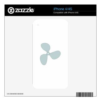 Propeller iPhone 4 Skins