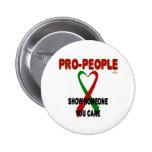 ProPeopleRedGreenRibbonProPeopleRedShowSomeoneYouC Button