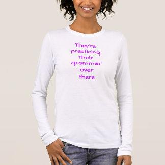 Proper Grammar Long Sleeve T-Shirt