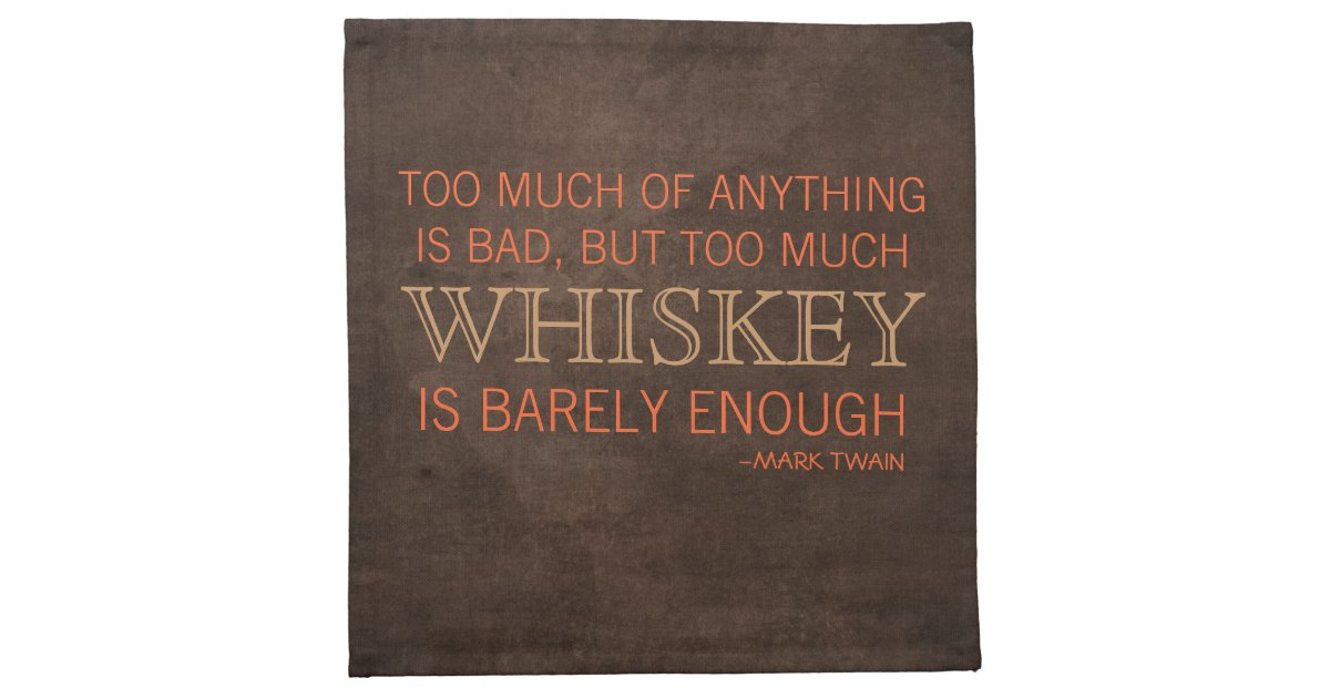 Proper Guys Whiskey Quote Cocktail Napkins | Zazzle.com