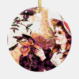 Proper Lady Ceramic Ornament