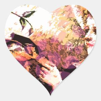 Proper Lady Heart Sticker