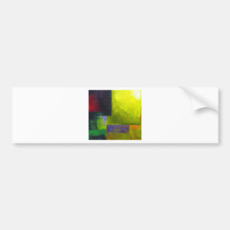 Proper Light Source (abstract light expressionism) Bumper Sticker