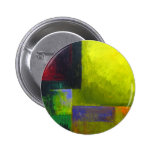 Proper Light Source (abstract light expressionism) 2 Inch Round Button