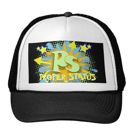 PROPER STATUS HAT