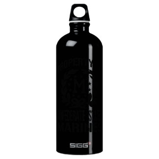Property Confederate Marines Aluminum Water Bottle
