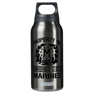 Property Confederate Marines Insulated Water Bottle