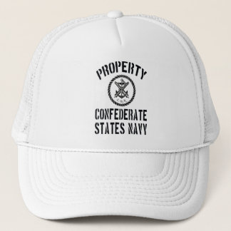 Property Confederate States Navy Trucker Hat