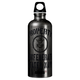 Property Confederate States Navy Water Bottle