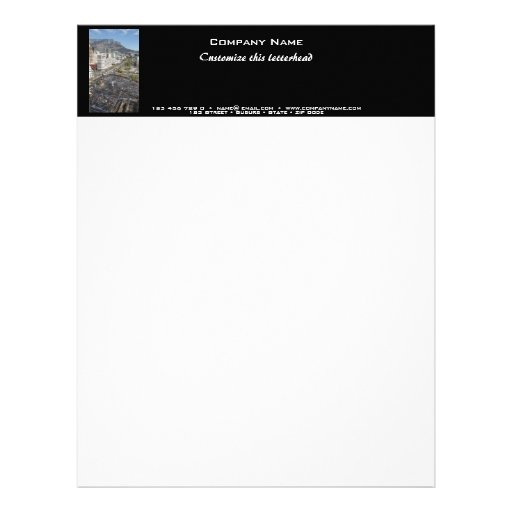 Property developers letterhead commercial