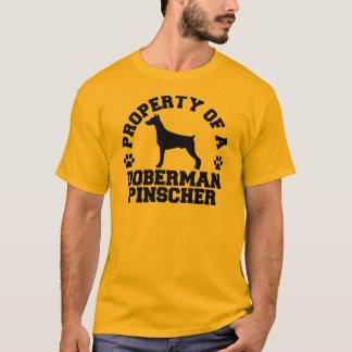 Property Doberman Pinscher T-Shirt