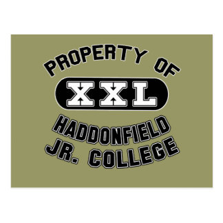 Property Haddonfield Junior College Products Postcard
