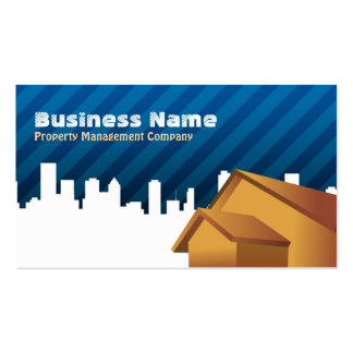 Property Management Company Business Cards
