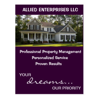 Property Management Postcard