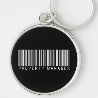 Property Manager Bar Code Key Chain
