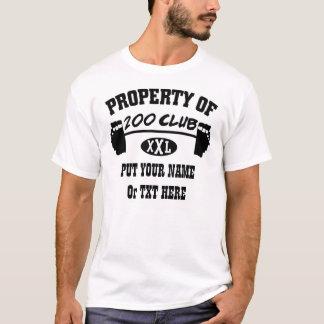 Property Of 200 Club XXL TShirt