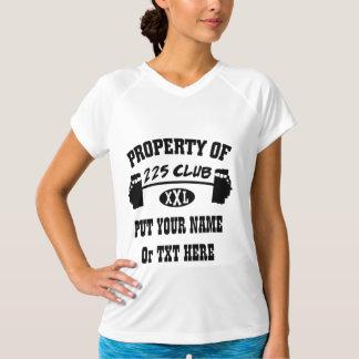 Property Of 225 Club XXL Ladies Tank T Shirt
