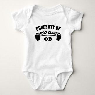 Property Of 350 Club XXL Bodysuit